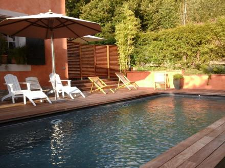 chalet saint paul piscine 2