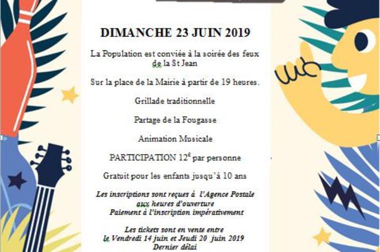 fête de la Saint Jean Bélesta Commune de Bélesta
