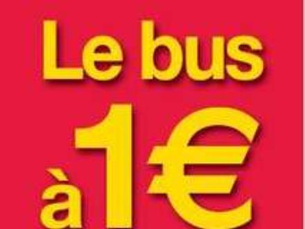 le bus à 1 €