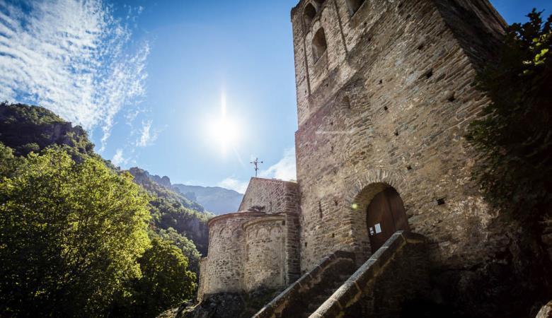 AAbbaye de St-Martin du Canigou