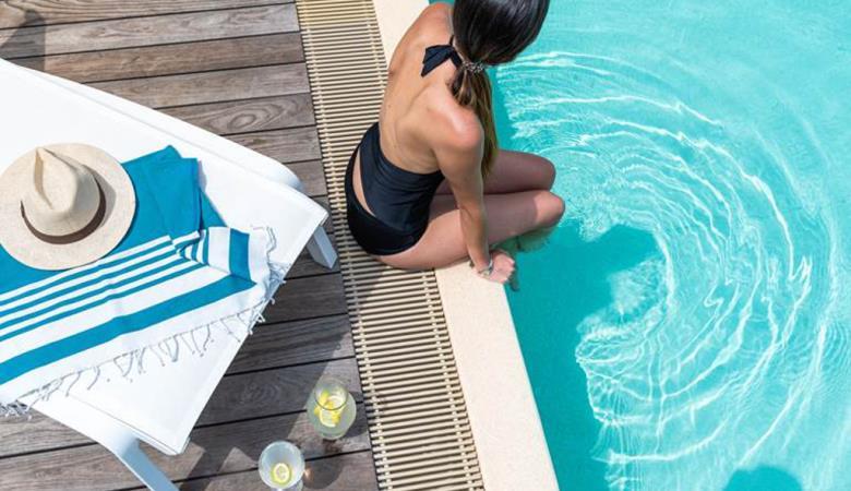 La Pinede piscine