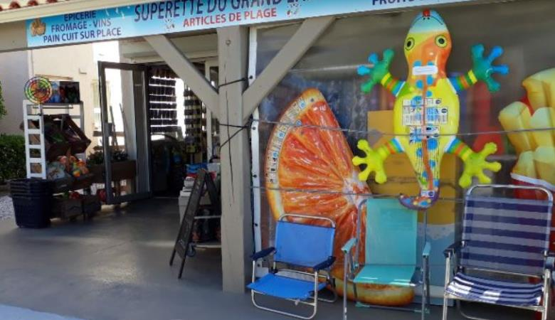 PORT BARCARES SUPERETTE LE GRAND LARGE