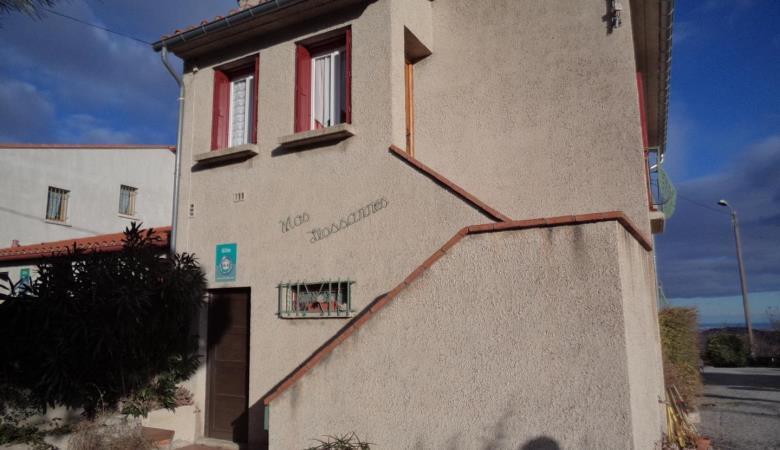 façade escalier d'entrée Canigou_1
